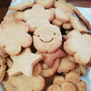 牛乳・卵・小麦粉不使用!赤ちゃんでも食べられる米粉&きな粉クッキー