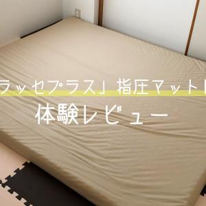 【1歳児と快適に寝る!】和室に指圧マットレスで落ち着きました