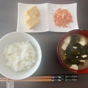 置き換えダイエット【とある日の食事】