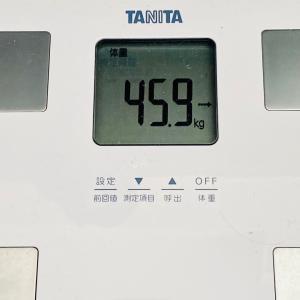 【急に何事か?】本日の体重と体脂肪率【44日目】