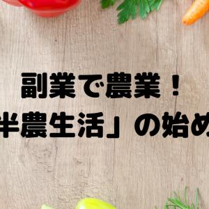 会社員が副業で野菜を売る「半農生活」の始め方