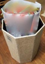 リサイクルゴミ袋のアイデア