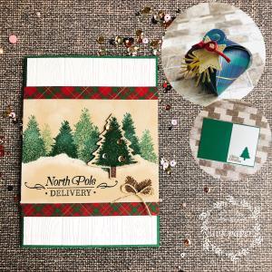 【ママガクレッスンご案内】11月4日(水)◆クリスマスカードを作ろう♪@グランツリー武蔵小杉