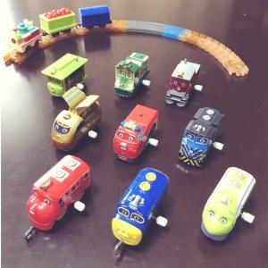 【「チャギントン」のカプセルプラレール】息子のおもちゃコレクション