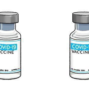 2回目接種済みでワクワクチンチン