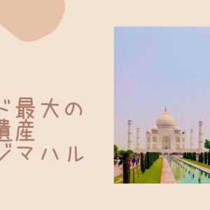 024 インド最大の世界遺産・タージマハル
