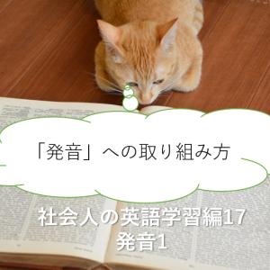 「発音」への取り組み方-社会人の英語学習17 発音1-