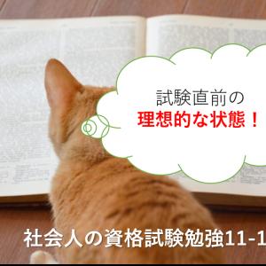 試験直前の「理想的な状態」!-社会人の資格試験勉強11-1「直前期」4-