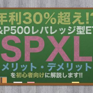 【平均年利 30%超え!?】S&P500の「3倍の値動き」をする「SPXL」を解説します!!