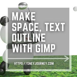 画像編集ソフトGIMPでLINEスタンプの余白とテキストを入れる手順