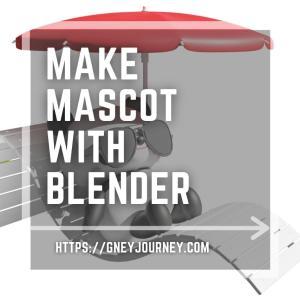 BlenderでLINEスタンプ用デフォルメキャラを作成する手順