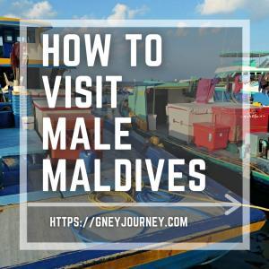 モルディブの首都マレ市内を観光 – 移動方法も