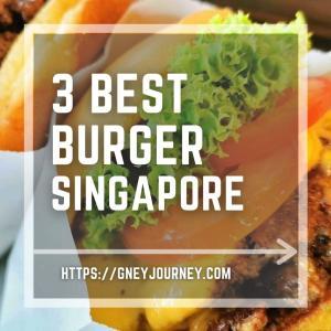シンガポールの美味しいハンバーガー店ベスト3