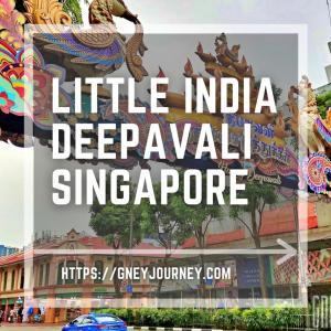 シンガポールのリトルインディアでディーバパリの賑わいと味わい
