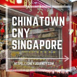 春節シンガポールのチャイナタウンは豪華絢爛!ランチを楽しもう