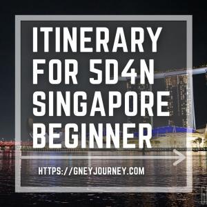 ゆとりのある日程!シンガポール 4泊5日観光モデルコース