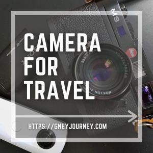 旅の記録におすすめのカメラ3種はこれ!