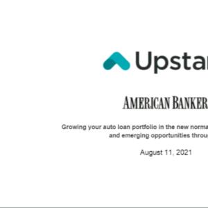 Upstartが銀行向けに行ったWebinar動画サマリー