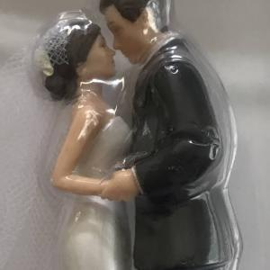 ウェディングケーキのてっぺんのお人形  結婚式のケーキの飾り  Cake Topper: Decoration for cakes