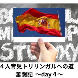4人育児のトリリンガルへの奮闘記 〜Day4〜