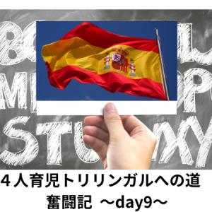 4人育児のトリリンガルへの奮闘記 〜Day9〜