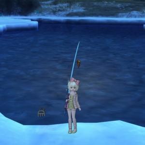 池に浮かぶ宝箱!?
