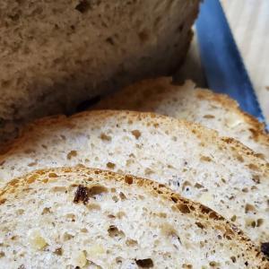 今朝のパン잘 먹었입니다