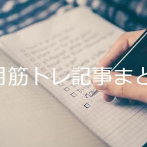 2020年8月に書いた筋トレ記事まとめ 全部で6記事!