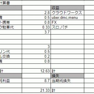 2月の資産【-27万】