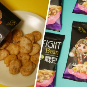 FIGHT Bean 戰豆(戦豆):台湾ドラマ『天巡者』にも登場した「そら豆スナック」