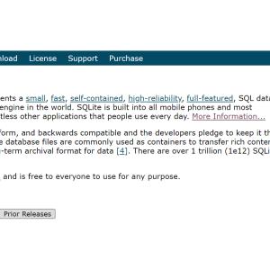 SQLiteのインストールするやり方を解説します
