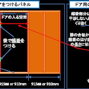 2畳で6万円 自作防音室の作り方 設計編3 ドア