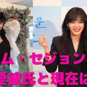 キム・セジョンの熱愛彼氏は?元アイドルの生い立ちや経歴・現在を調査!
