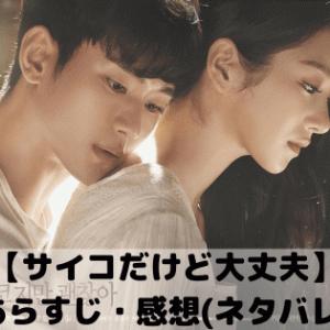 【サイコだけど大丈夫】8話あらすじ・感想(ネタバレあり)〜美女と野獣〜