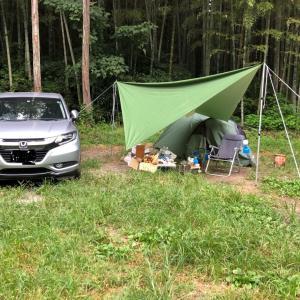 ソロキャンプ2日目(脱水に陥る)