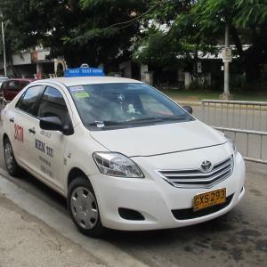 フィリピンのタクシー乗車の際の注意