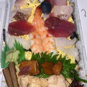 今日はお寿司!