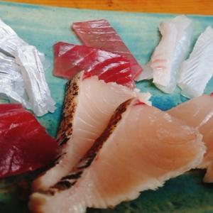 魚の棚、まぐろ屋の食堂から新店へ    Φ730    まぐろ屋の食堂~甚べえ