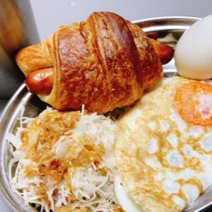 今週の朝ごパン後編     おうちでごはん