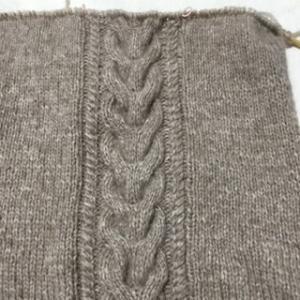 編む方が楽しいね