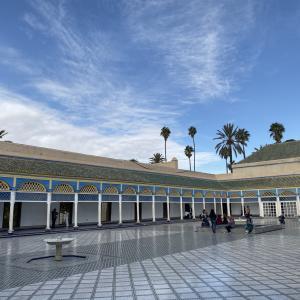 モロッコ旅行記 バヒア宮殿 現地をご紹介