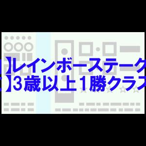 2020/9/19(土) レインボーステークス(中山) 3歳以上1勝クラス(中京)他 結果