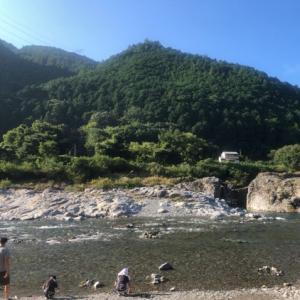 吉野ファミリーキャンプ 2日目①(朝のさんぽ)