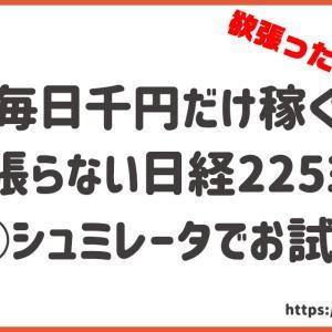 副業で稼ぐ❗日経225先物ミニ口座開設その前に無料で体験してみよう✨