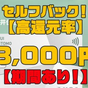 セルフバックのおすすめ案件が登場 リボ専用カード発行【8千円】