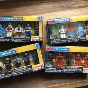 LEGOもどきのミニフィギュアコレクション