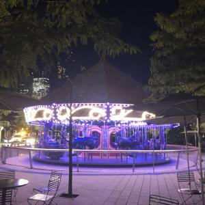 Bostonの夜景と映画撮影と