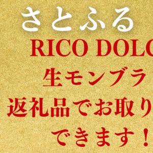 さとふる RICO DOLCE 生モンブランが返礼品でお取り寄せできます!