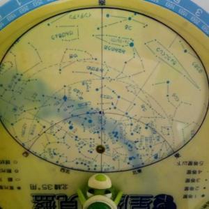 星座早見盤 10月1日 夜9時の空 更新20201001