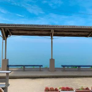 【5日目】八幡浜から松山へ。絶景の夕やけこやけラインと下灘駅(2020.8.3)